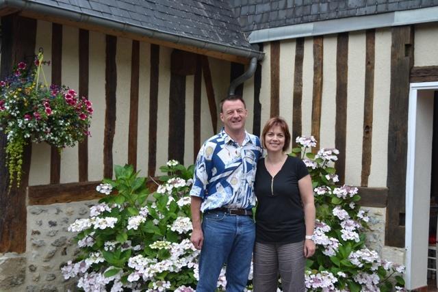 Serge et Sandrine vous accueillent