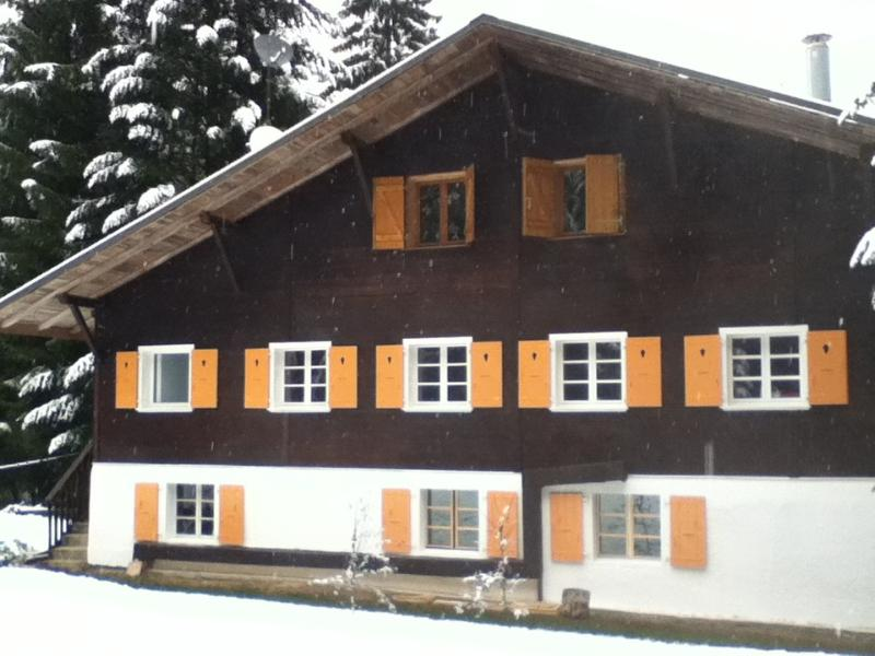 Chalet Alpe Massif............. a warm welcome awaits  you.