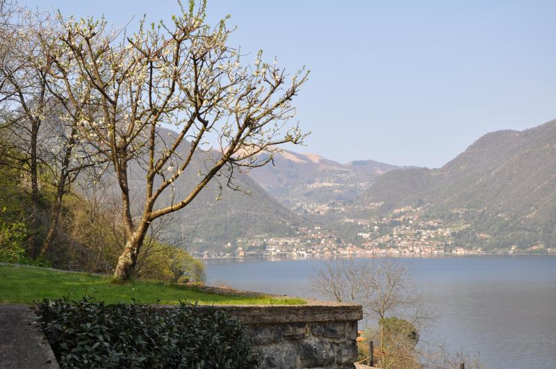 Posto del Cuore on the lake between Bellagio and Como, vacation rental in Lezzeno