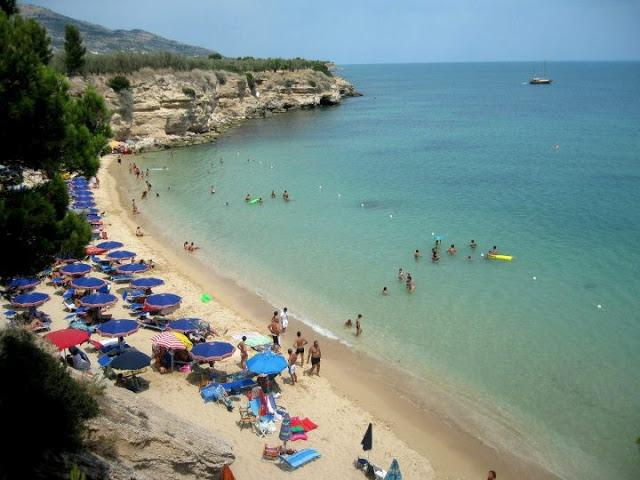 Lido Varcaro: just 9 km from the city centre.