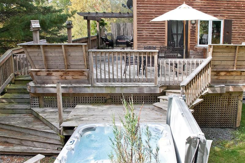 Ski and spa, holiday rental in North Hatley