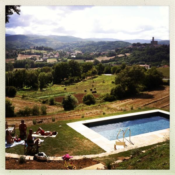 un tuffo nella più bella campagna Toscana