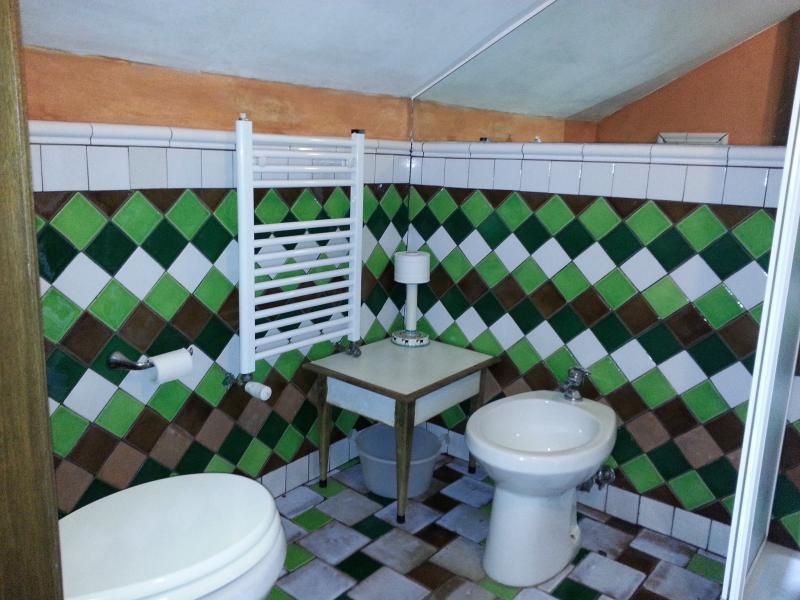 il wc con il bidè