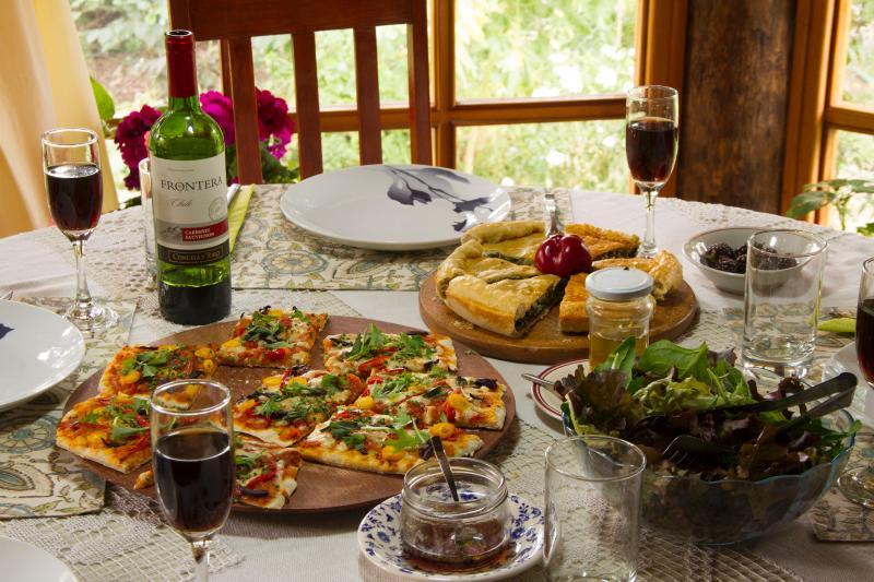 Noche de pizza en casa