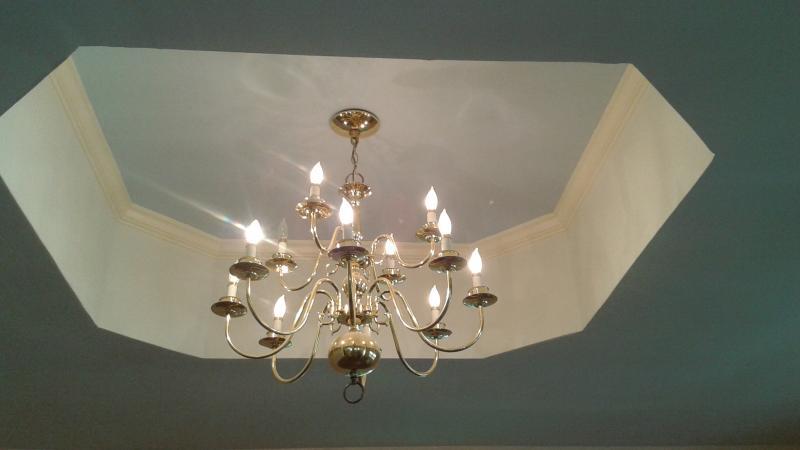Living room ceiling light