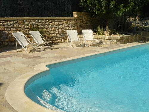 Swimming pool Outdoor 9mX4 with slope inclined to share with the owners