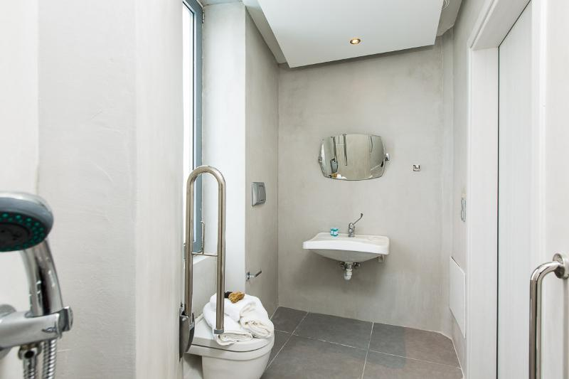 Bathroom specially designed for disabled people!
