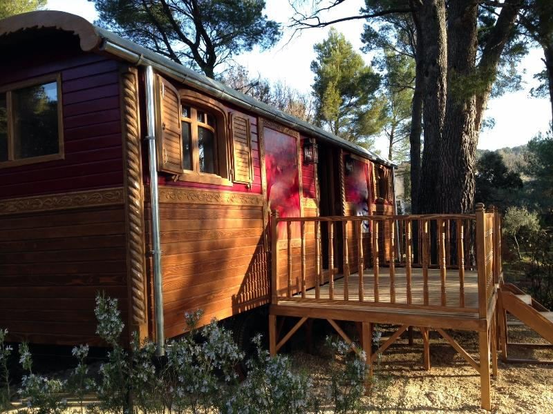 Roulotte Tzigane TOBIA, vacation rental in Montech