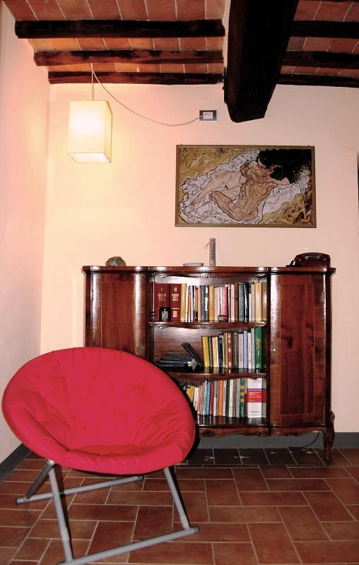 Un piccolo angolo pensato per leggere un buon libro