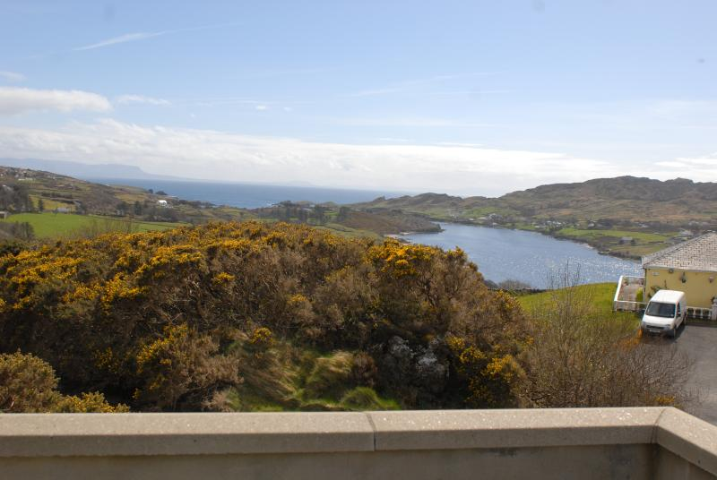 Views of Donegal and Teelin bay.