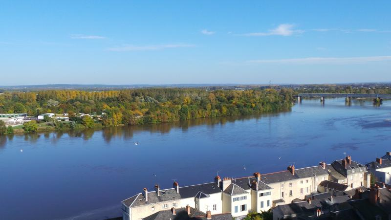 The Loire at Saumur - October sun