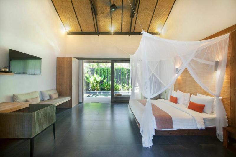 Dormitorio espacioso y cómodo