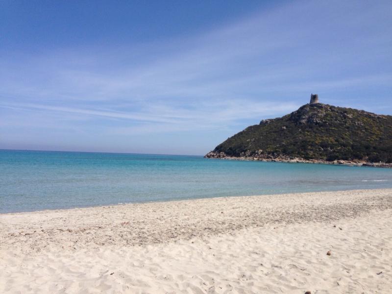 the splendid cala giunco beach, nearby