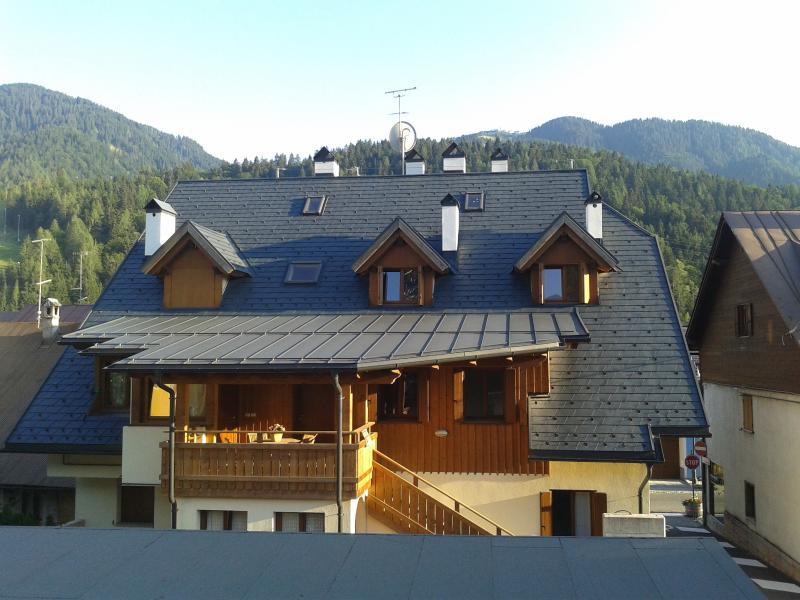 Vista panoramica del Monte Lussari