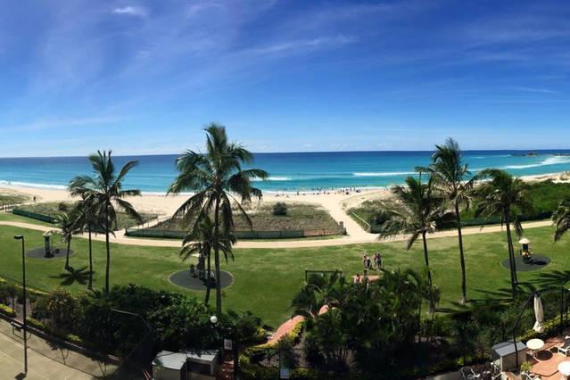 Panoramic beach views