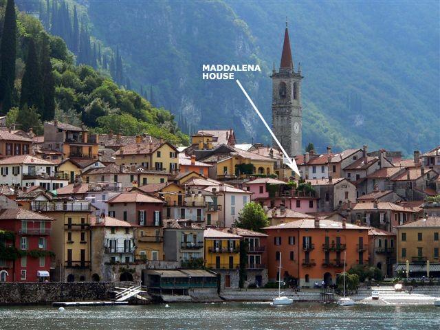Maddalena house position