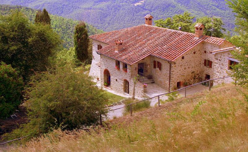 Villa il Corso , view from the pool