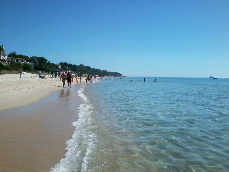 Santa Margherita di Pula beach 250mt to the house