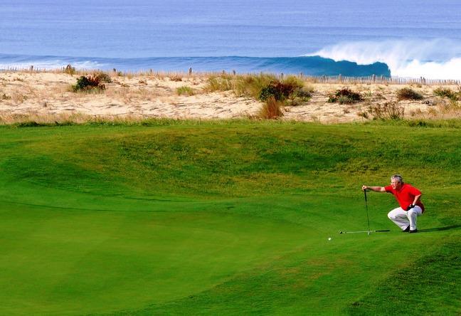 golf international de Moliets