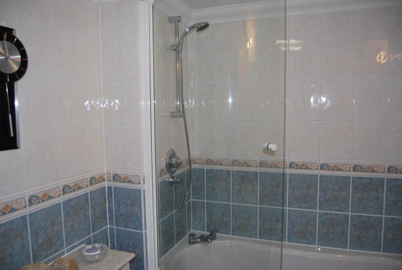 Bathroom, bath and shower