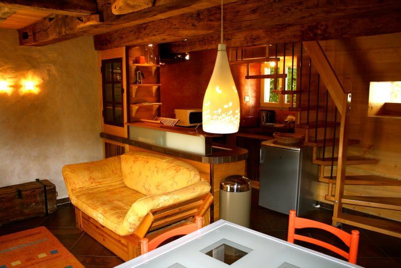 Eco gite Aveyron, vacation rental in Luc la Primaube