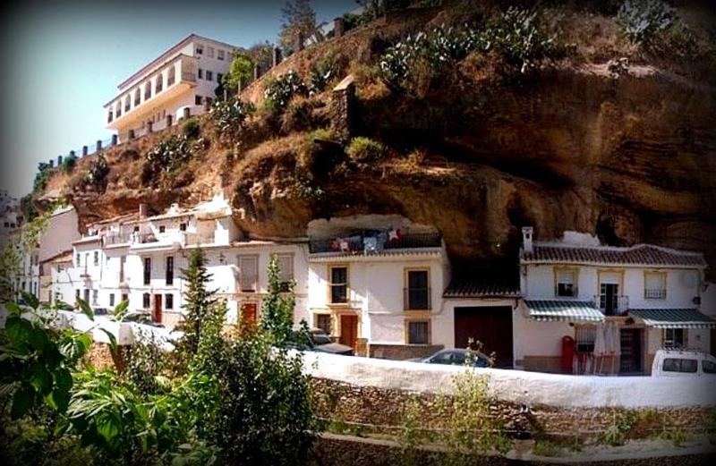 Casa cuevas, alquiler de vacaciones en Setenil de las Bodegas