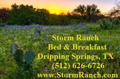 Storm Ranch Bed and Breakfast, vacation rental in Dripping Springs