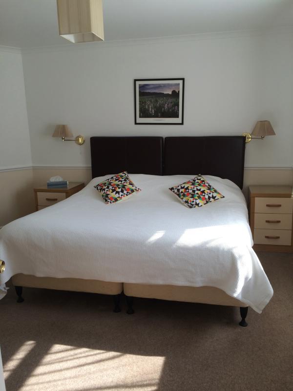 Amplia y cómoda cama