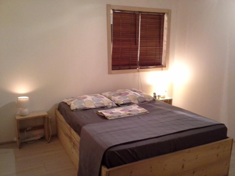 La chambre avec possibilité d'un lit Bébé supplémentaire