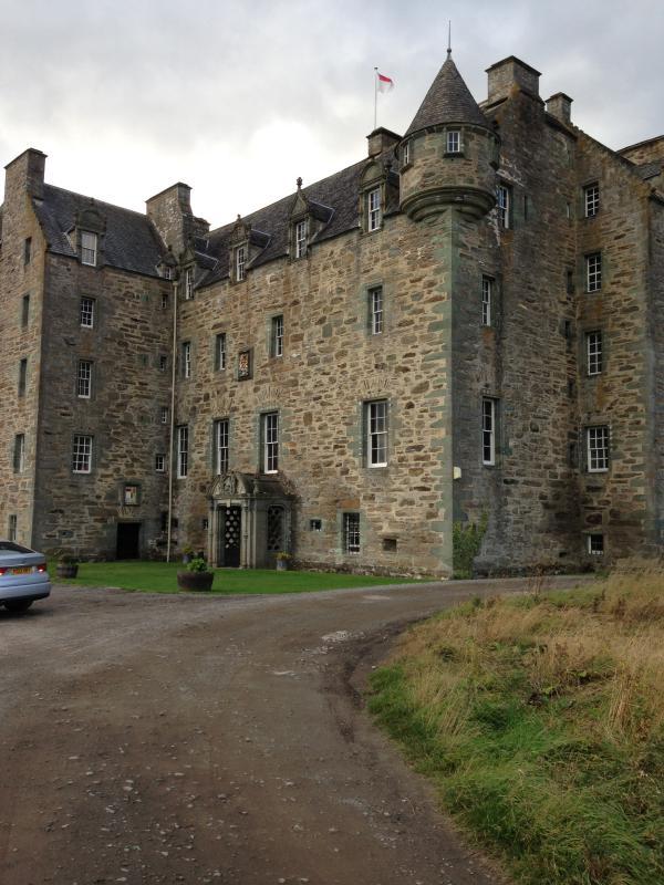 Weem Castle close by
