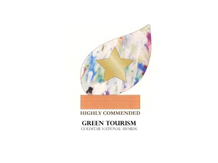 Green Tourism GoldStar award in national awards (highly commended)