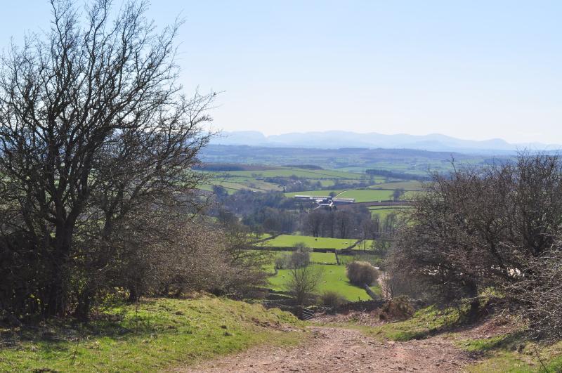 Renwick del camino a Thackmoor, mirando a través del Valle de Eden