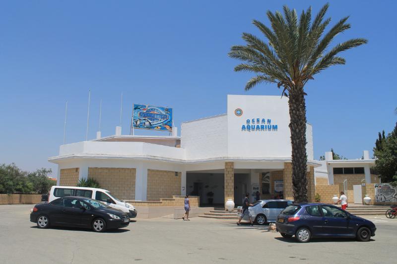 aquarium cyprus  in a 450 meters rom the house
