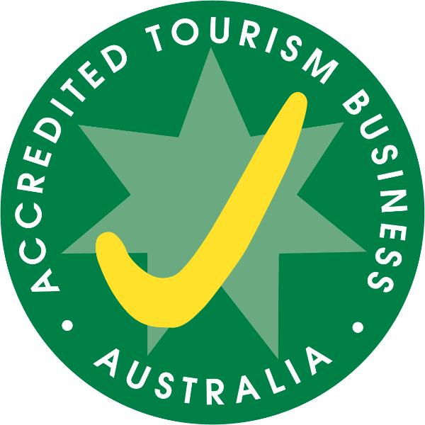...and yes we have the tick of approval from Tourism Australia for Topiary Haven Garden Apartment