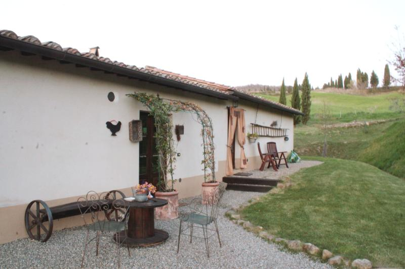 Podere Rigopesci relax in Val d'Orcia., vakantiewoning in Pienza