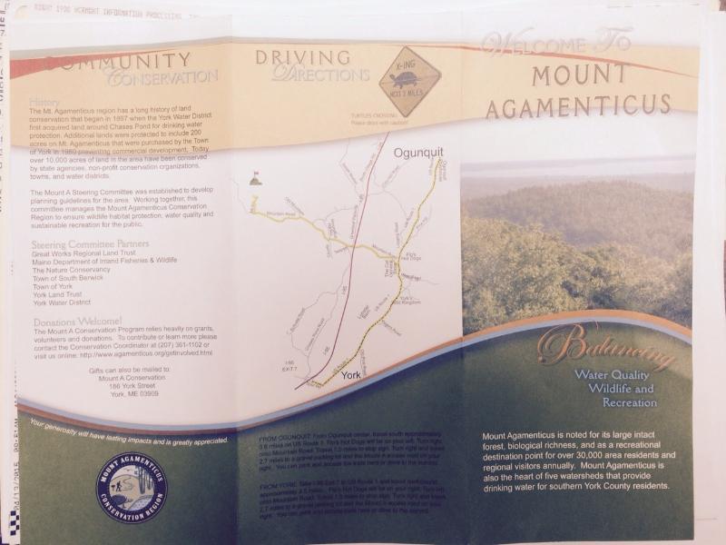 Mount Agamenticus brochure