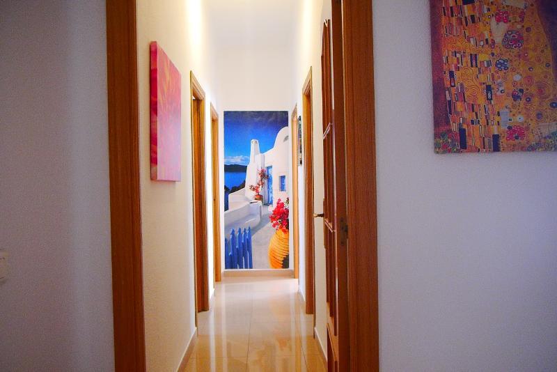 Main hallway of the flat