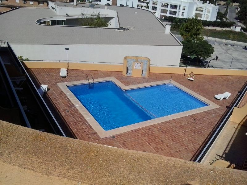 lovely pool, with area for children, is only open in the summer season