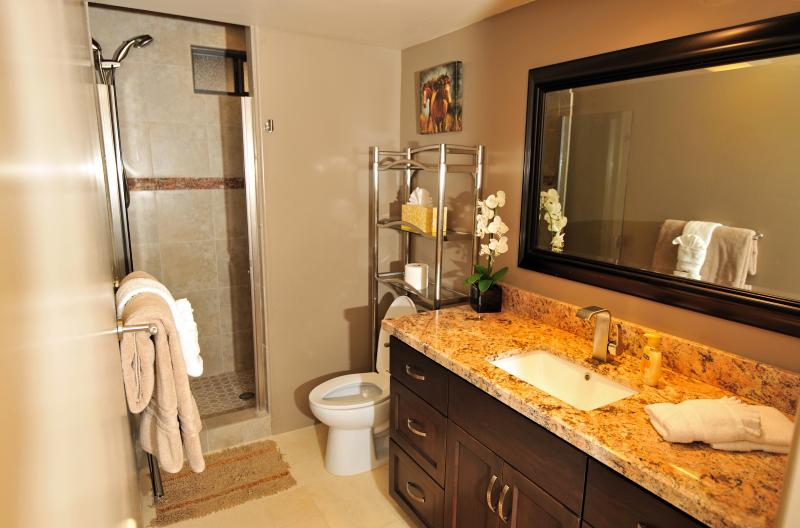 Western Suite Bathroom.