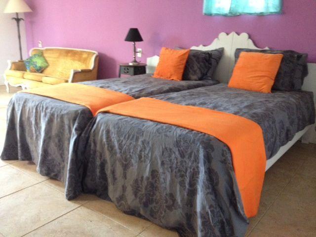 Deux lits simples font un parfait lit double