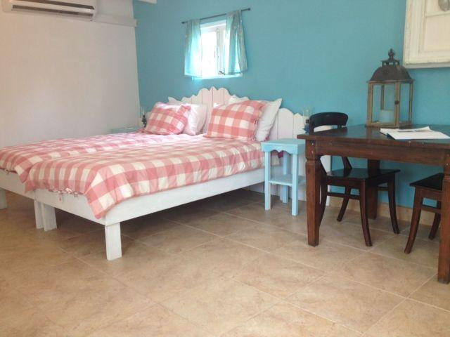 Two comfortable single beds make a nice double bed
