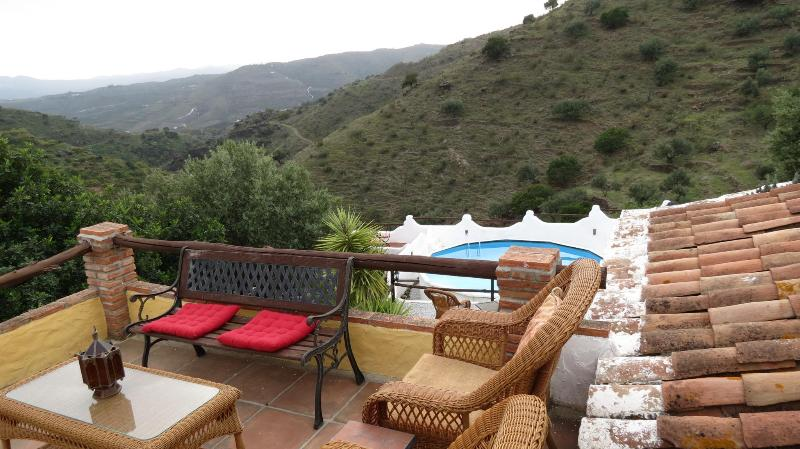 Your private breakfast terrace