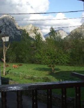 vista tomada desde la casa