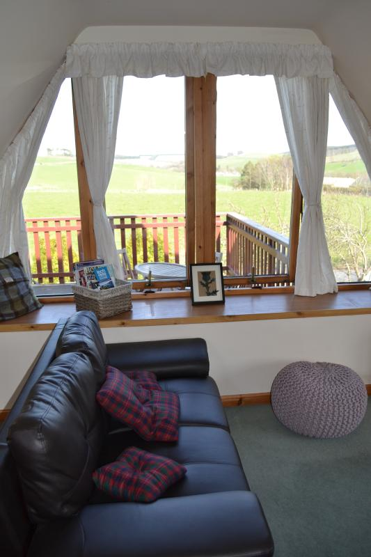 Panoramic view from the Lounge