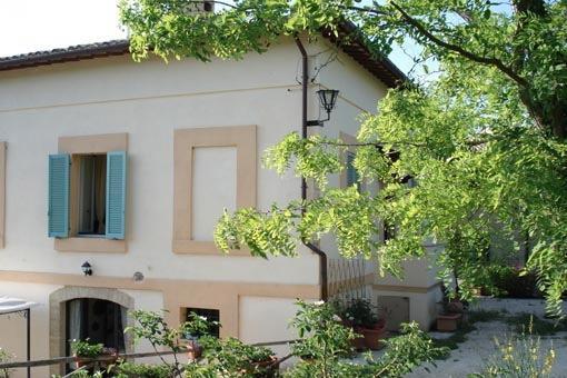 door to the patio-terrace