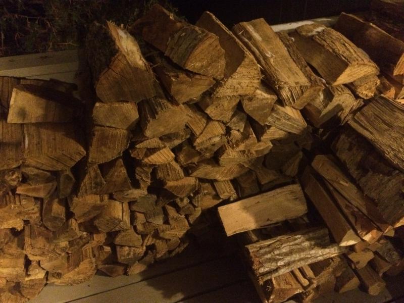 Plenty of free wood to use!