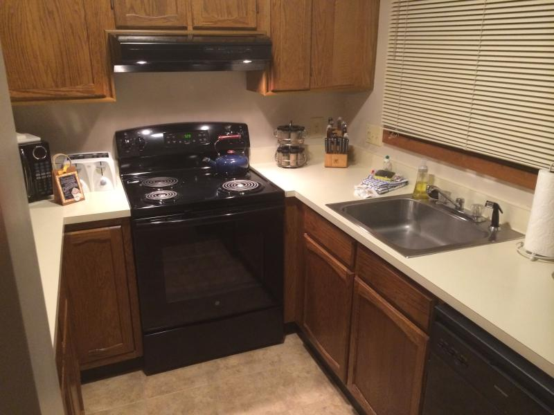Clean and bright newly updated kitchen.