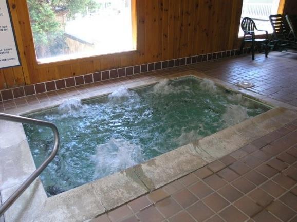 Hot tub too!