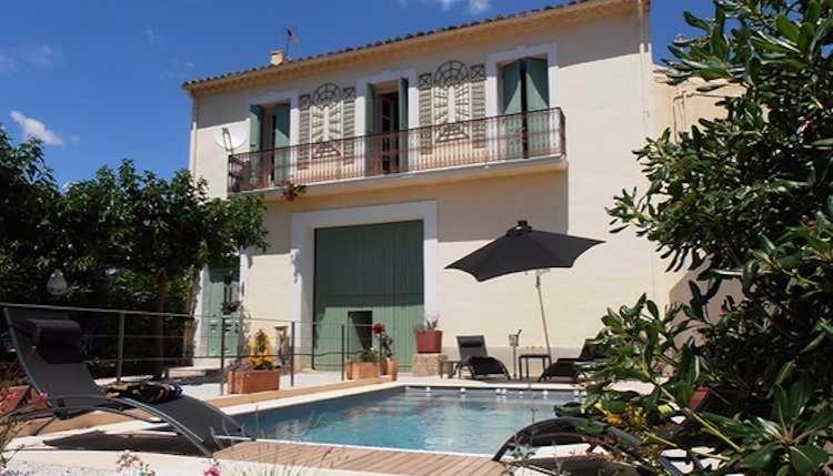 Lezignan-la-Cebe holiday villas in South France, vacation rental in Lezignan-la-Cebe