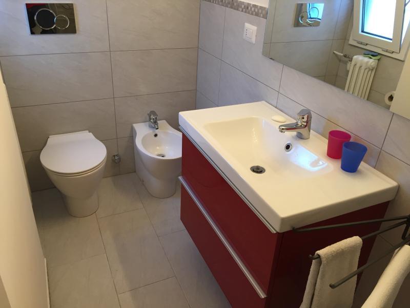 the comfortable bathroom brand new!